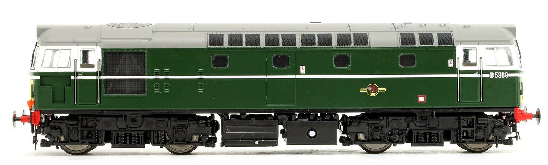 Class 27 - D5369 BR Green (Small Yellow Panel) V3 Diesel Locomotive