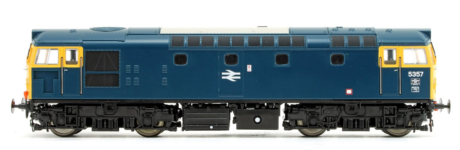Class 27 - 5357 BR Blue (Full Yellow Ends) V3 Diesel Locomotive