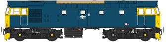 Class 27 BR Blue unnumbered (non-boilered)