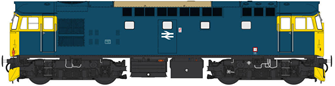 Class 27 BR Blue unnumbered (boiler fitted)