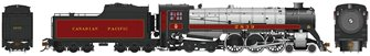 Class H1c 4-6-4 Royal Hudson Canadian Pacific #2860 Coal Tender Commonwealth Trucks - DC Silent