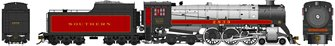 Southern Railway Class H1c 4-6-4 Royal Hudson #2839 with Coal Tender Commonwealth Trucks - DC Silent