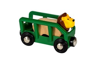 BRIO World Lion Wagon