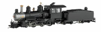 BALDWIN 4-6-0 STEAM LOCOMOTIVE DCC SOUND