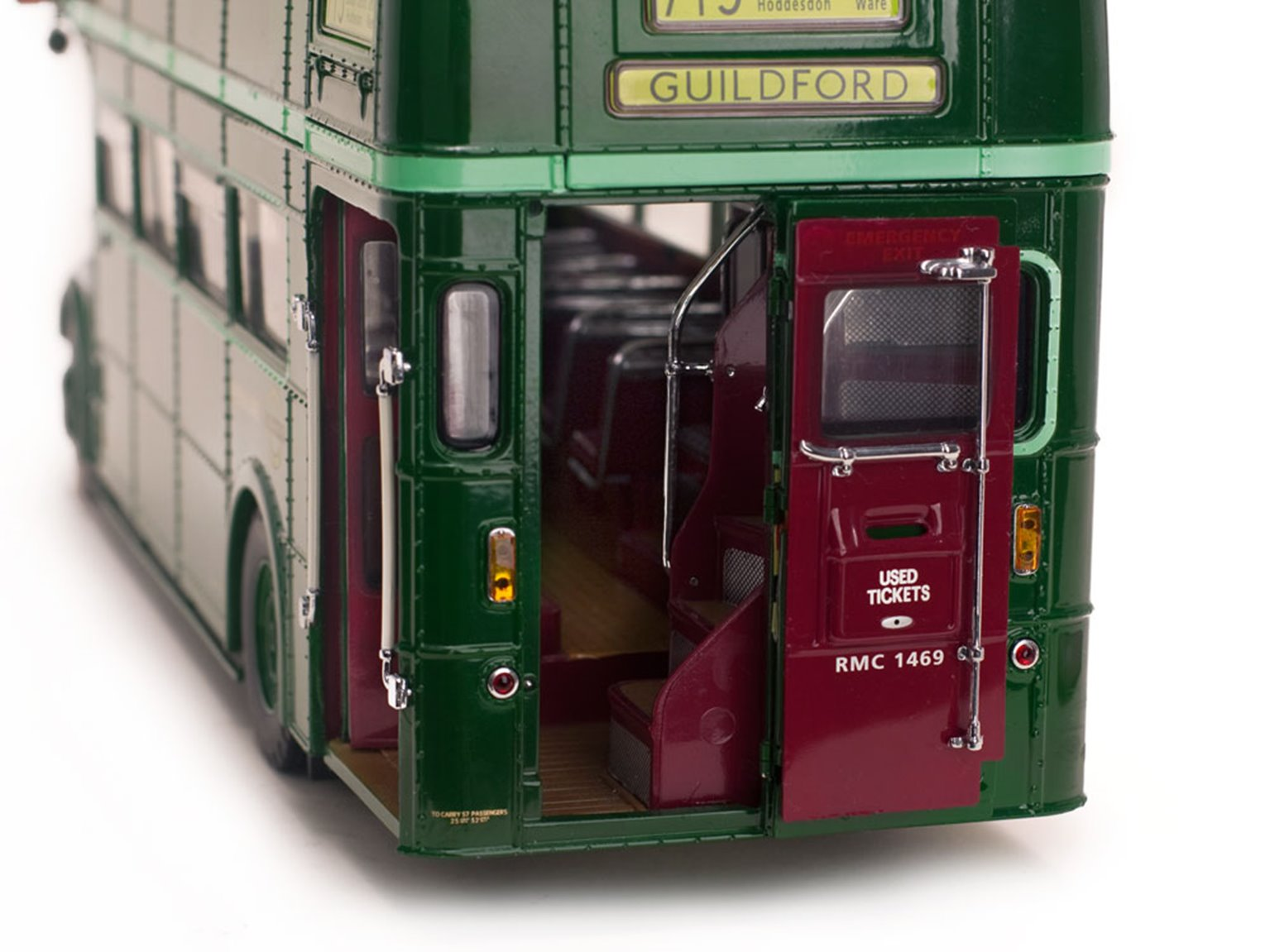 1958 Routemaster Bus RMC 1469 - 469 CLT - London Transport Green Line