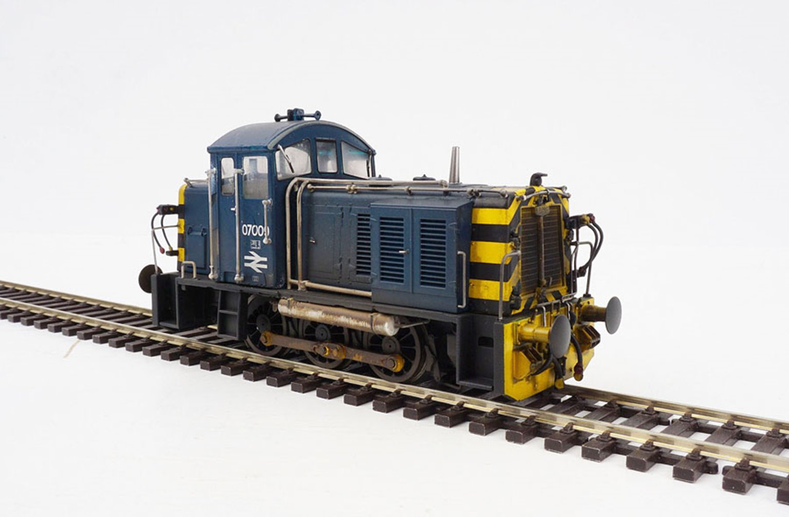 Class 07 009 BR Blue (Weathered) Diesel Shunter
