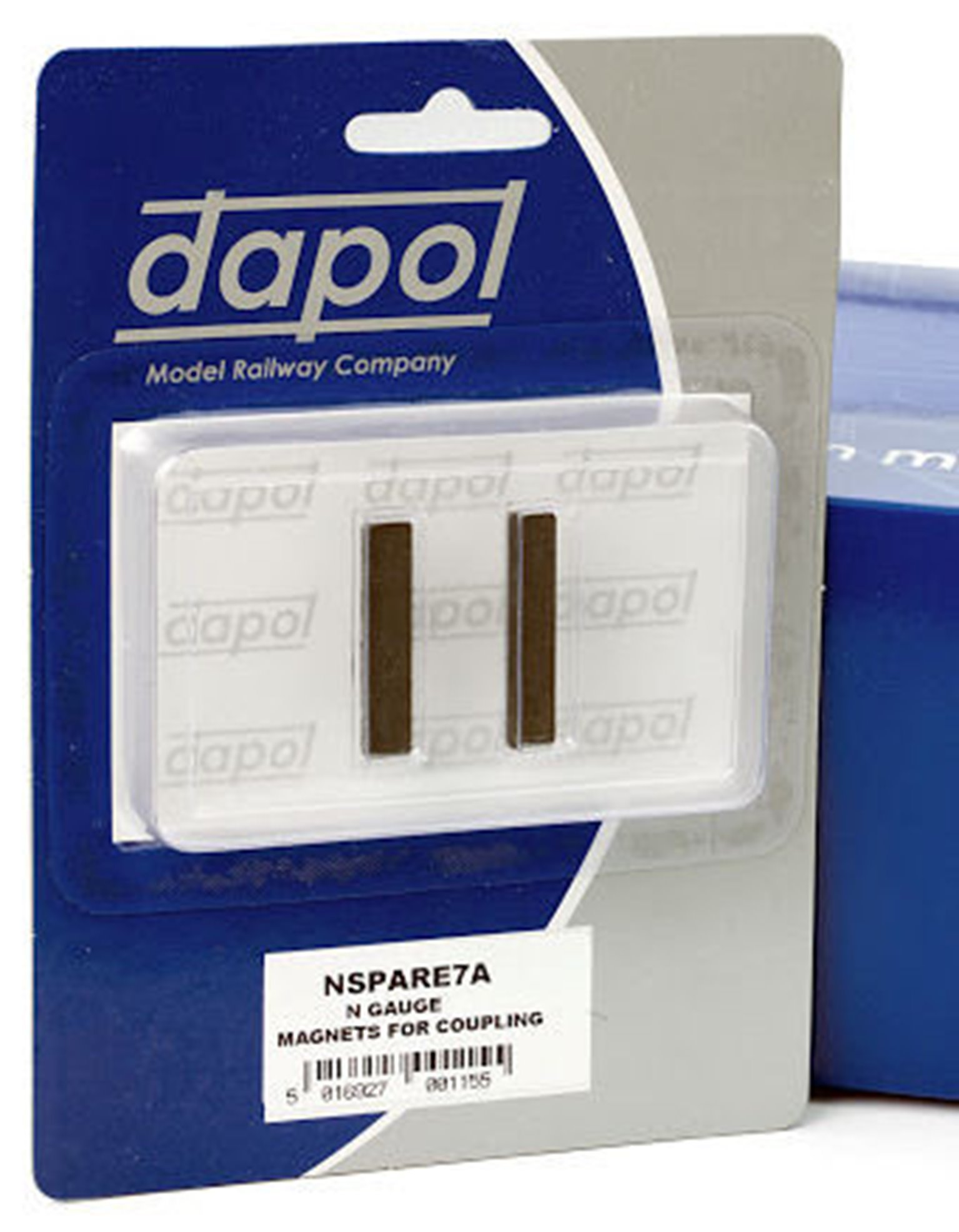 In track magnets for Dapol Easi-couple magnetic NEM couplers (1 pair)