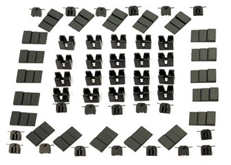 20 Pockets for NEM Couplings (20 Inners, Outers & Shims)
