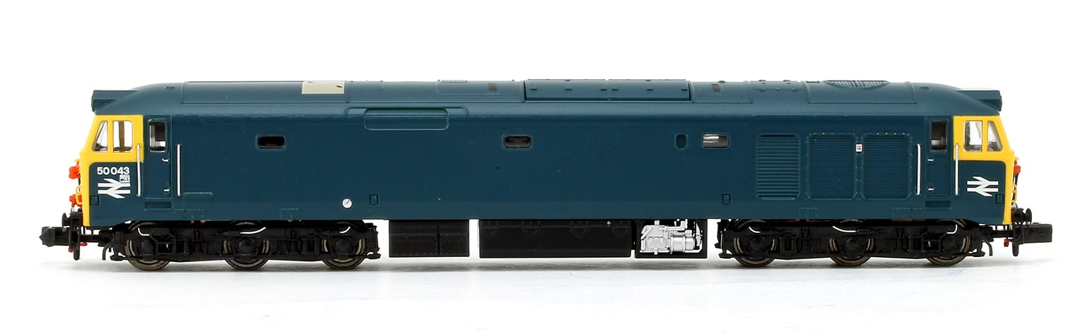 Class 50 #50043 BR Blue (Unrefurbished) - DCC Fitted