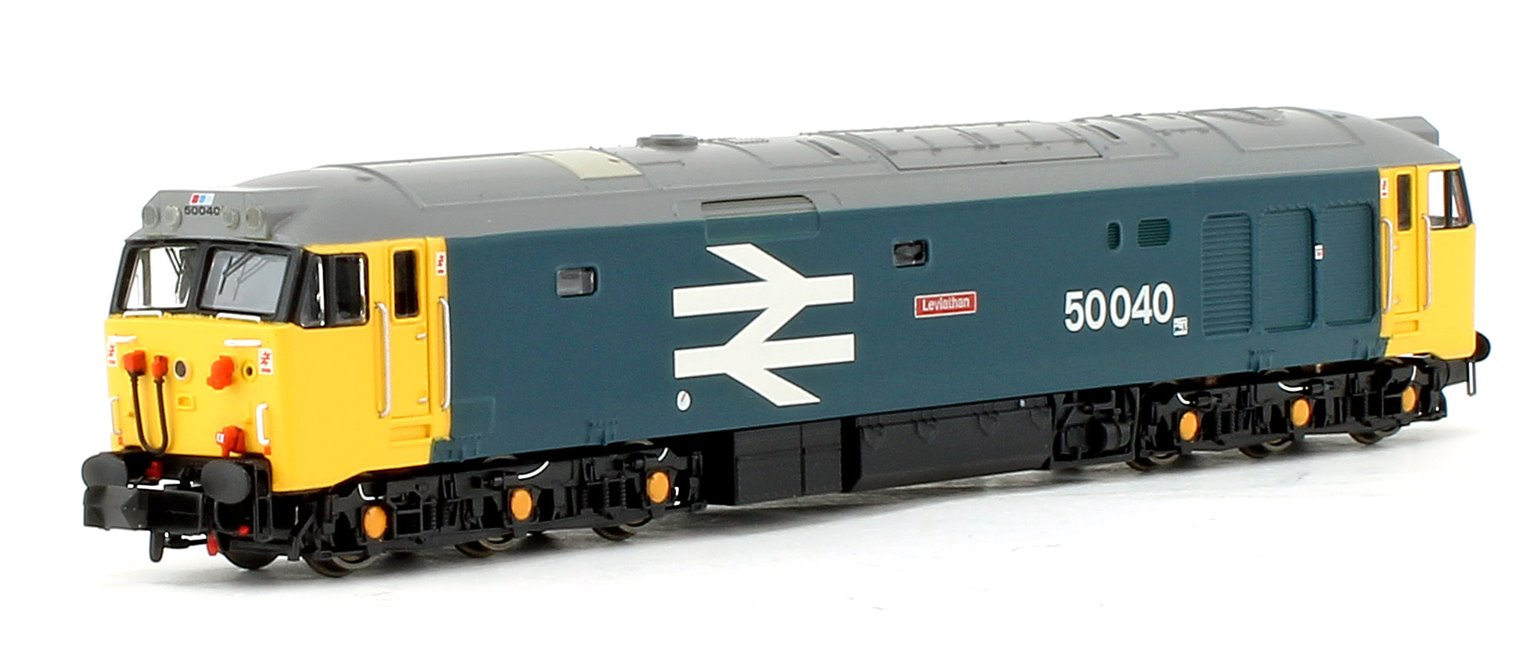 Class 50 'Leviathan' #50040 BR Blue Large Logo - DCC Fitted