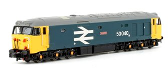 Class 50 'Leviathan' #50040 BR Blue Large Logo Diesel Locomotive