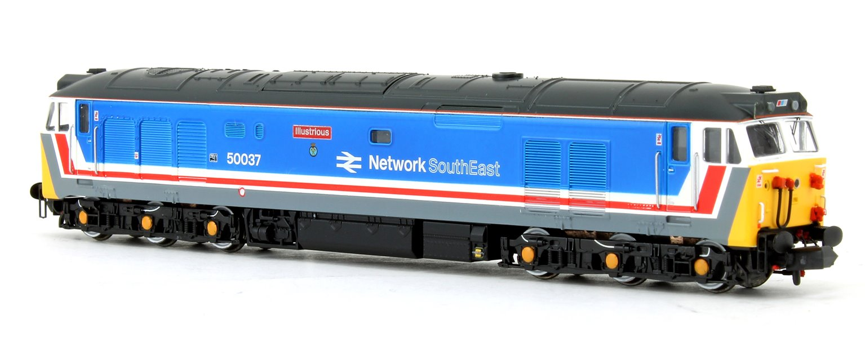 Class 50 'Illustrious' #50037 Original NSE Livery Diesel Locomotive
