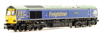 Class 66 66623 Freightliner Blue Bill Bolsover DCC FITTED