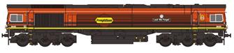 Class 66 66413 'Lest We Forget' Freightliner Orange & Black Diesel Locomotive