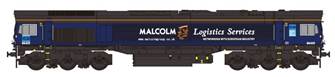 Class 66 66405 DRS Malcolms Diesel Locomotive DCC Fitted