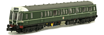 Class 121 W55025 BR Green Speed Whiskers