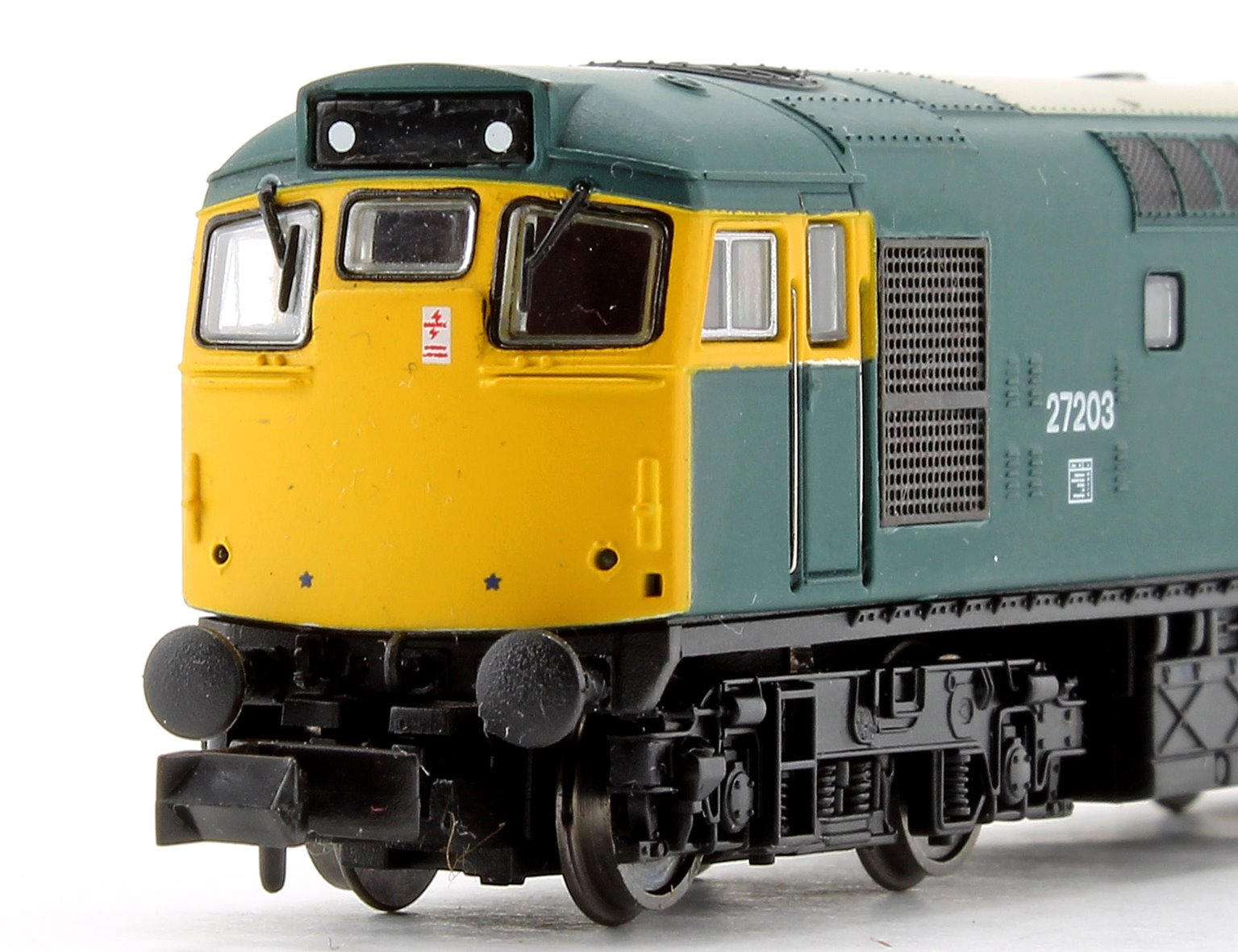 Class 27 203 BR Blue Full Yellow Ends Diesel Locomotive (Unpowered Dummy)