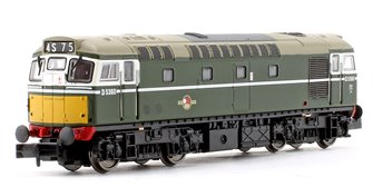 Class 27 #D5360 BR Green Small Yellow Panel Diesel Locomotive (Unpowered Dummy car)