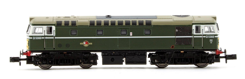 Class 27 #D5360 BR Green Small Yellow Panel Diesel Locomotive (Unpowered Dummy car)