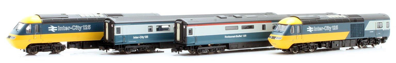 Class 43 HST Blue/Grey ER 43193/119 4 Car Set