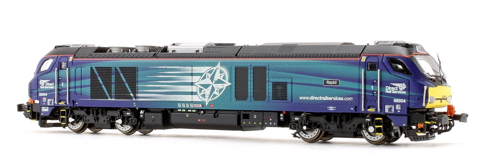 Class 68 004 'Rapid' DRS Compass Diesel Locomotive DCC Fitted