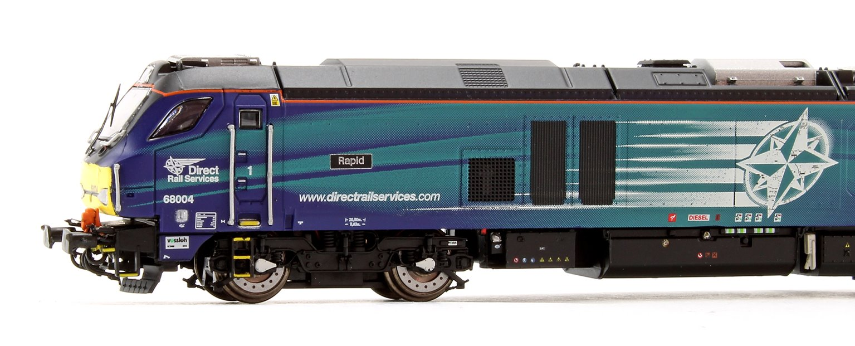 Class 68 004 'Rapid' DRS Compass Diesel Locomotive