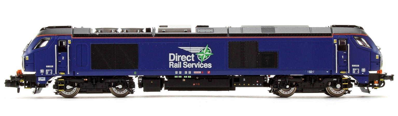 Class 68 DRS Plain Blue Diesel Locomotive