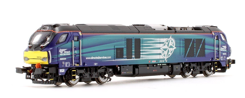 Class 68 034 DRS Compass Diesel Locomotive
