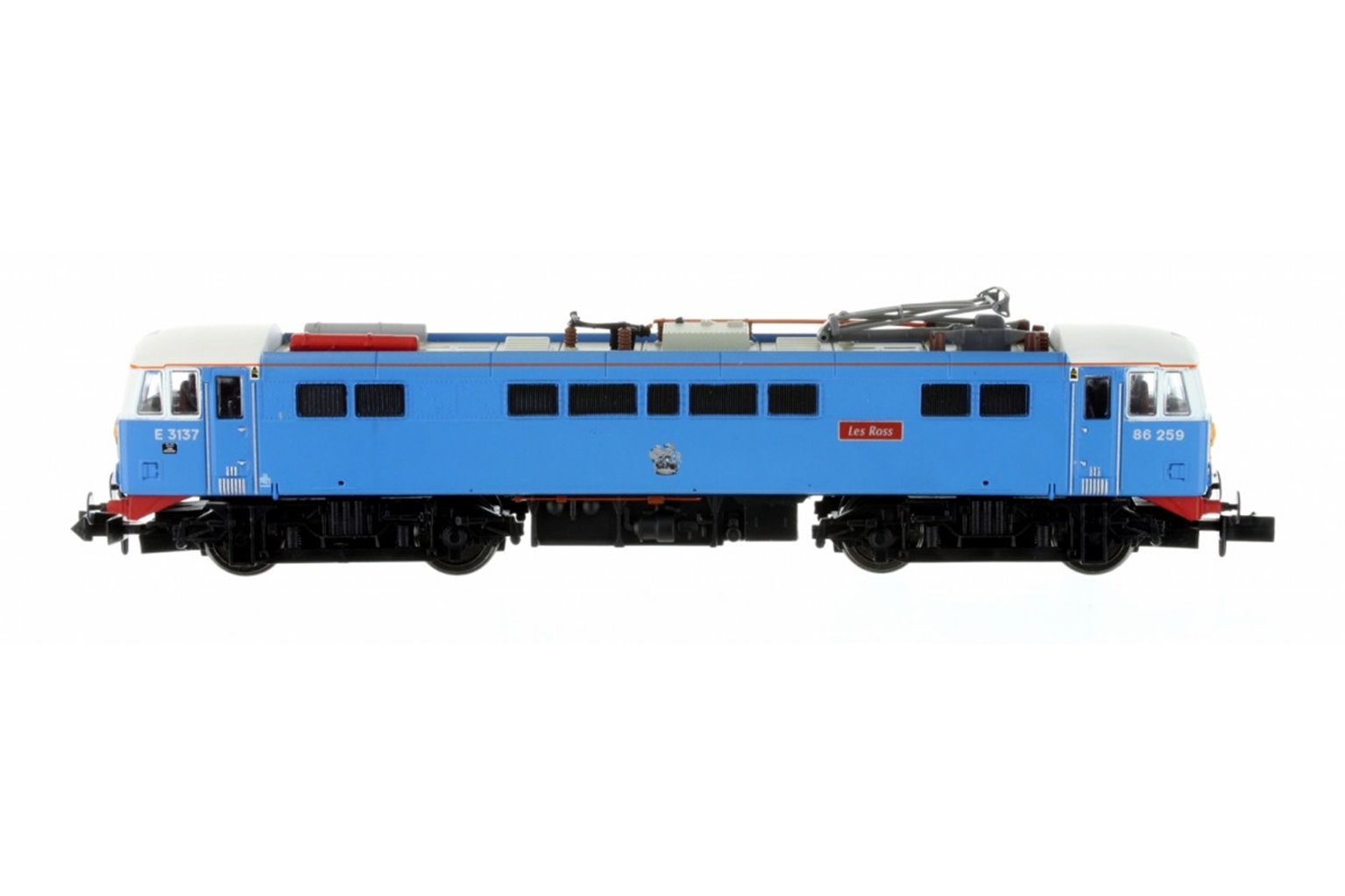 Class 86 Les Ross/Peter Pan 86259/E3137 Blue SYP (DCC Fitted)