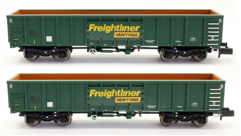 MJA Freightliner Heavy Haul Box Van Twin 502017 & 502018