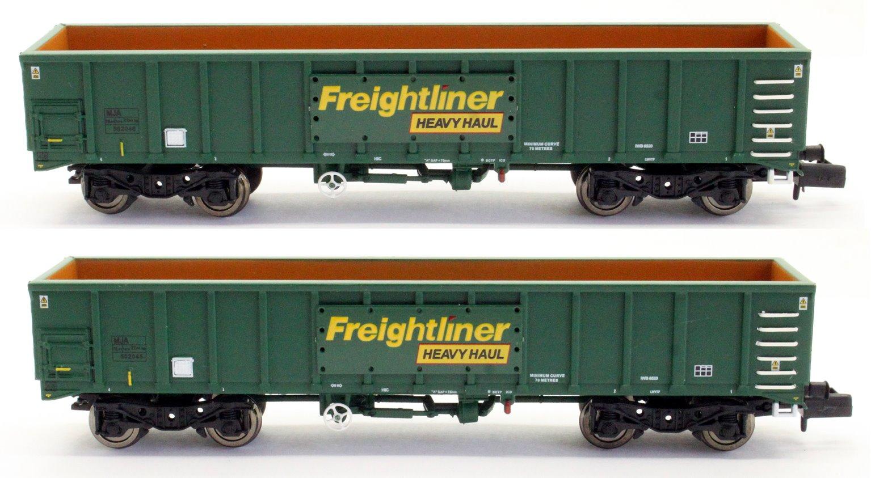 MJA Freightliner Heavy Haul Box Van Twin 502045 & 502046
