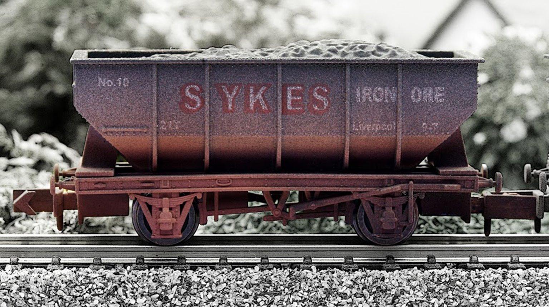 Sykes 21 Ton Hopper Wagon - Weathered