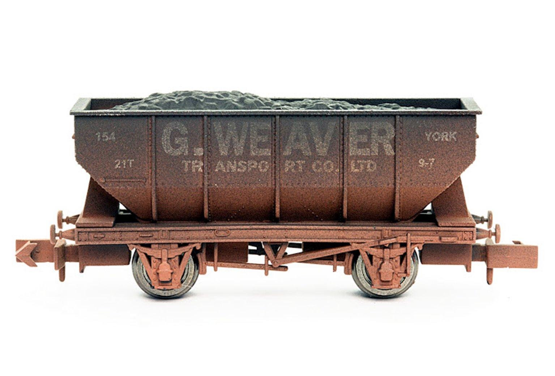 Dapol 2F-034-010 George Weaver 21 Ton Hopper Wagon - Weathered