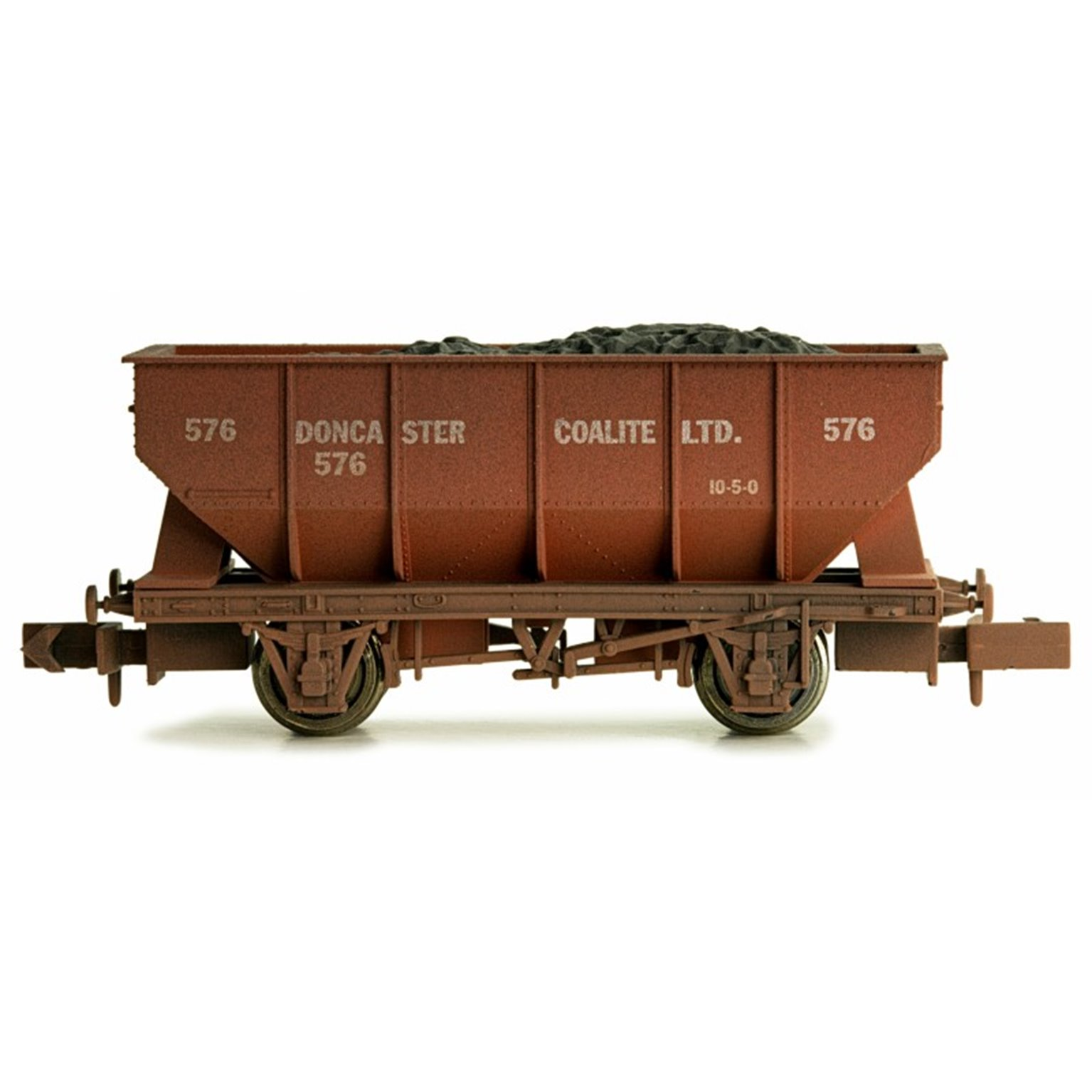 Dapol 2F-034-028 21T Hopper Doncaster Coalite 576 Weathered