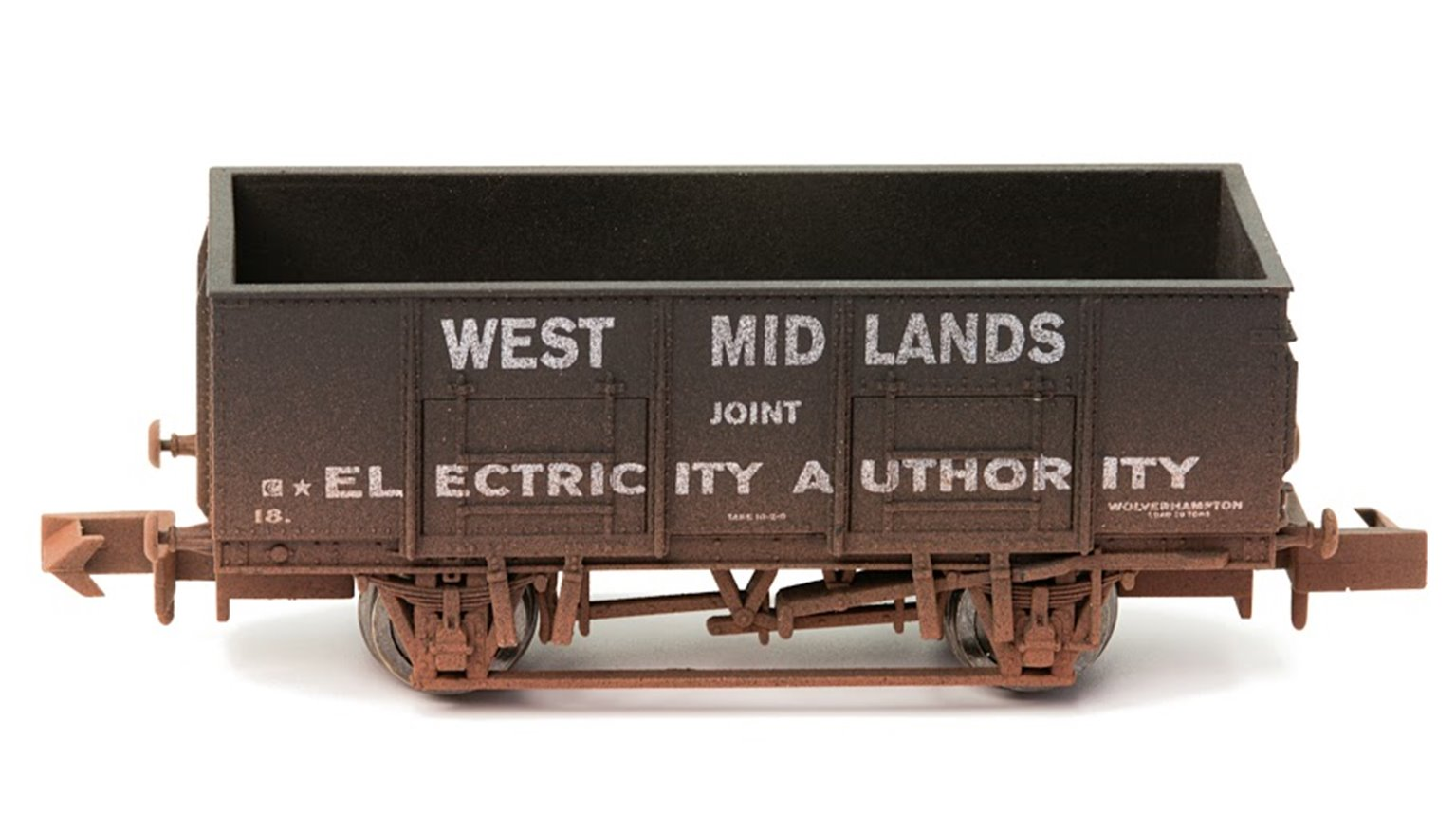 Dapol 2F-038-008 West Midlands Electricity 20 Ton Steel Mineral Wagon - Weathered