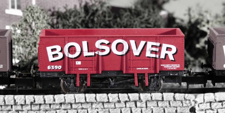 Dapol  2F-038-013 Bolsover 20 Ton Steel Mineral Wagon