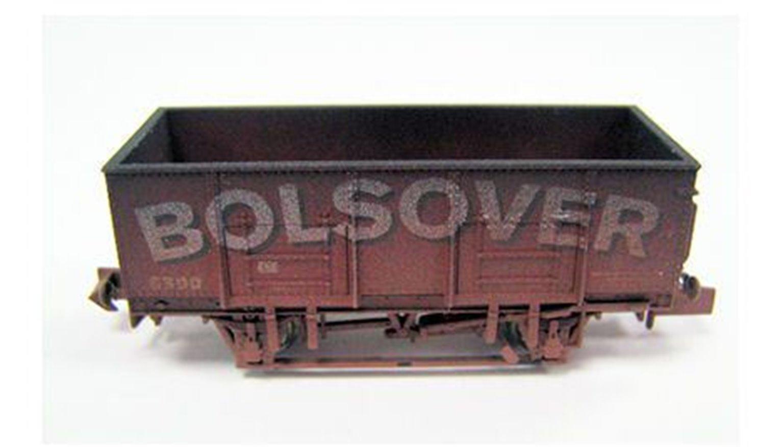 Dapol 2F-038-014 Bolsover 20 Ton Steel Mineral Wagon - Weathered