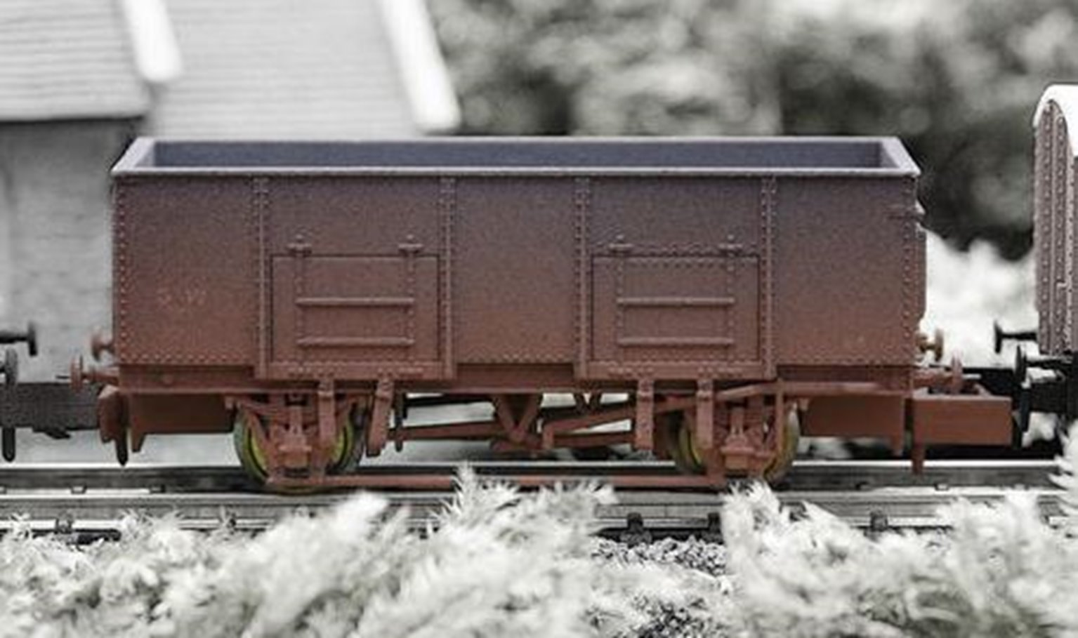 Dapol 2F-038-042 20T Steel Mineral GWR 33250 Weathered