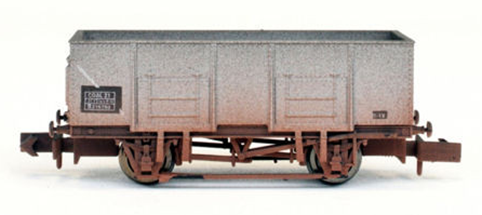 20T Steel Mineral Wagon BR 315750 Weathered