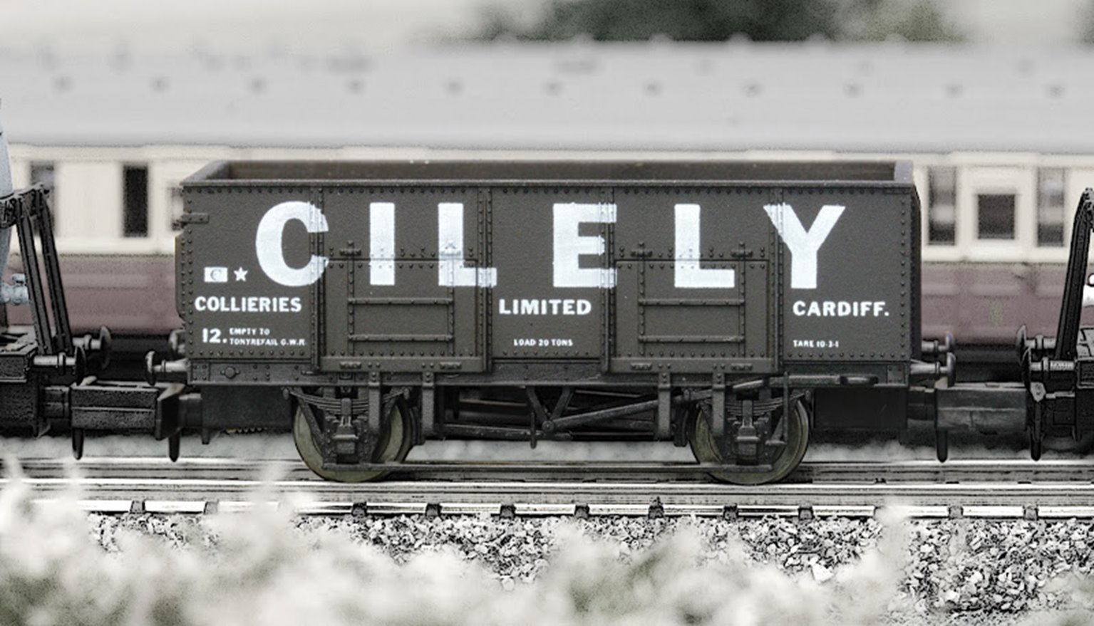 Dapol 2F-038-011 Cilely 20 Ton Steel Mineral Wagon