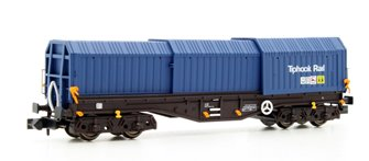 Dapol 2F-039-012 Telescopic Hood Wagon Tiphook Blue 33 70 0899 083-6