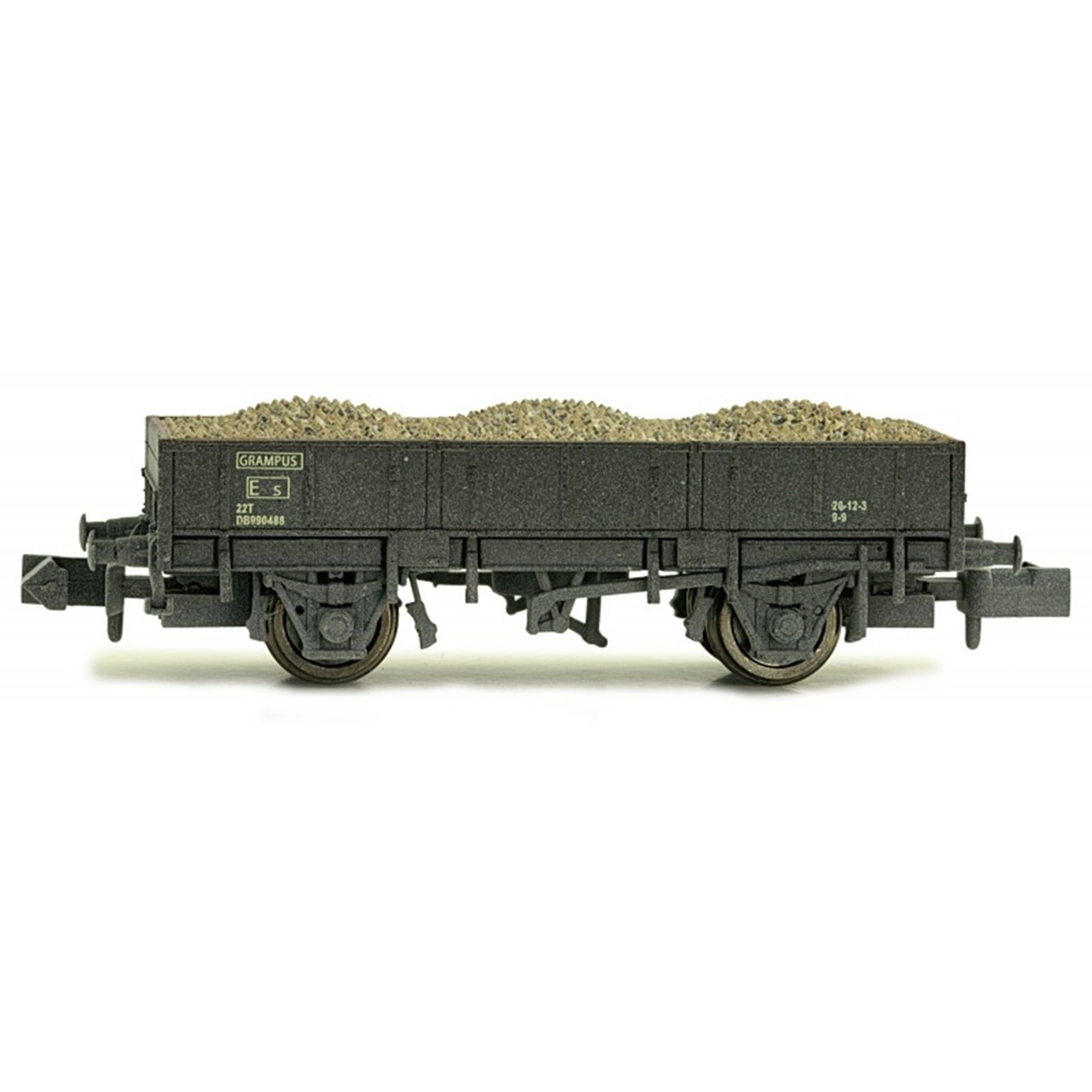 Dapol 2F-060-010W Grampus BR Black #DB990488 - Weathered