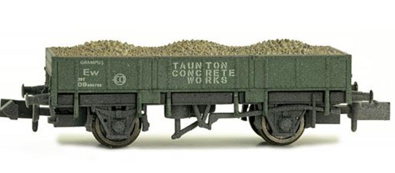 Dapol 2F-060-013W Grampus Taunton Concrete Olive Green #DB986708 - Weathered