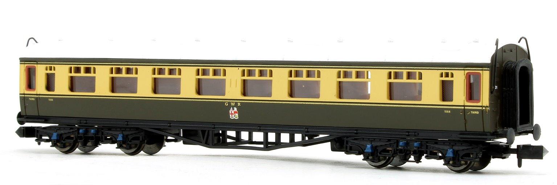 Collett Coach GWR Crest Chocolate/Cream 3rd Class 1088