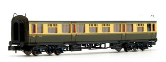 Collett Coach BR Chocolate / Cream Second Class Coach W1092