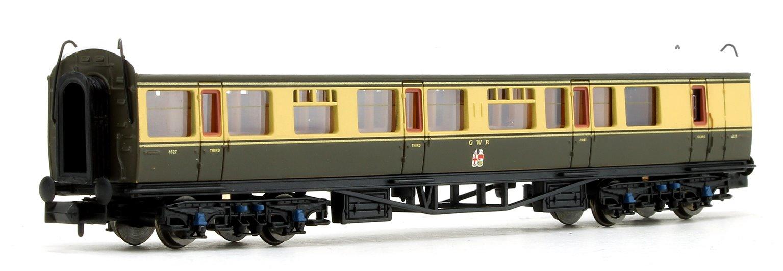 Collett Coach GWR Crest Chocolate / Cream Brake Composite 6527