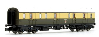 Collett Coach GWR Crest Chocolate / Cream Full Brake Coach 101