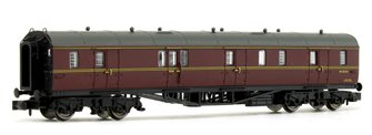Collett Coach BR Maroon Full Brake Coach W110W