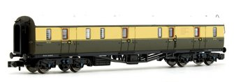 Collett Coach BR Chocolate / Cream Full Brake Coach W195