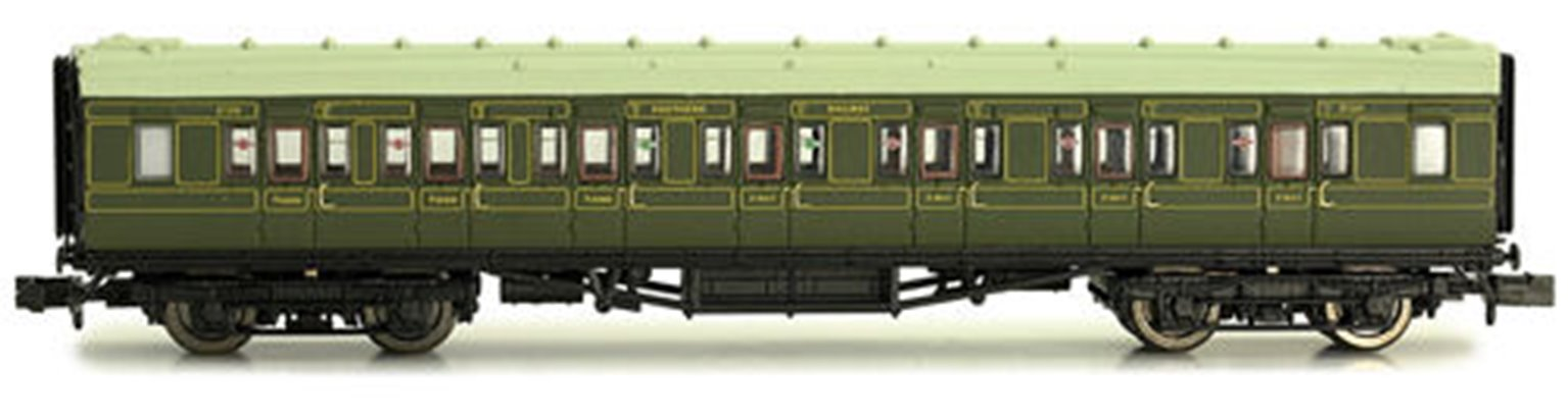 Maunsell Coach SR Composite Lined Green 5140